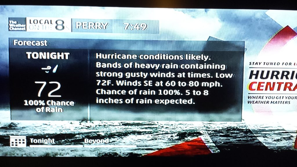 windy forecast for Perry Florida hurricane hermine