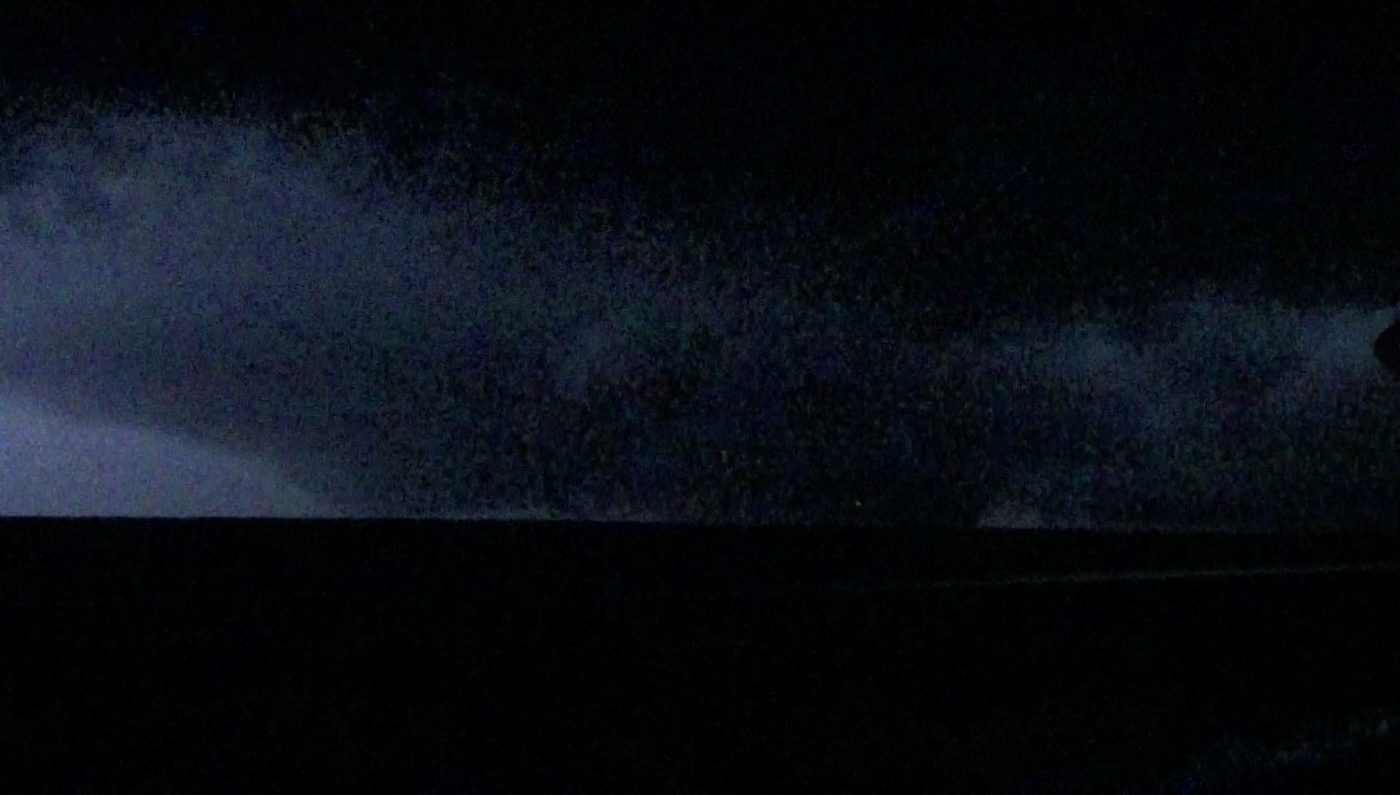 Plains KS Tornado Night